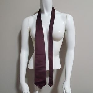 Croft & Barrow Purple Silk Tie